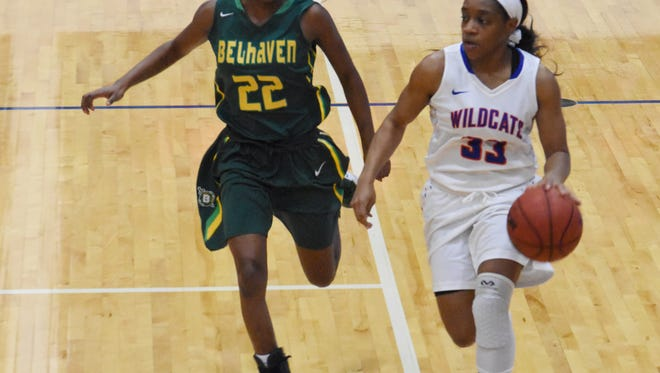 The Lady Wildcats of Louisiana College played Belhaven University Lady Blazers Tuesday, Jan. 22, 2019. The Lady Wildcats won 63-62.
