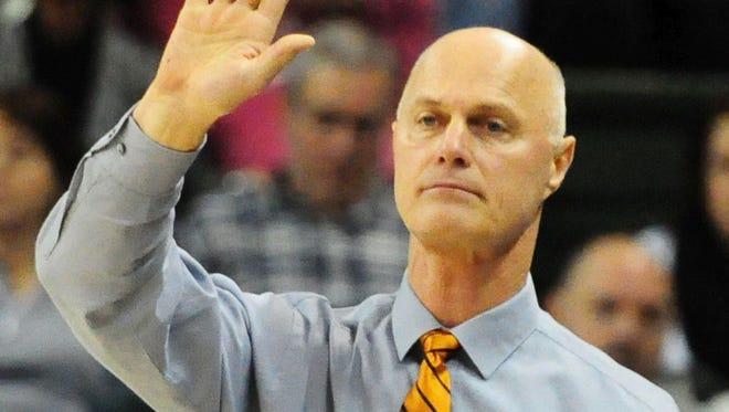 UWGB coach Kevin Borseth.