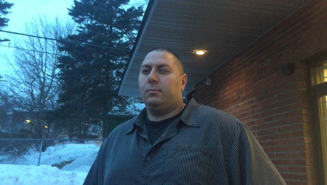 Louis DeCosmo, father of Mason and Jaxon, after Ulster County Family Court ends on Wednesday