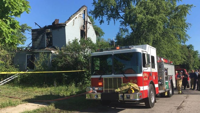 One person was found dead during an early-morning fire on the 600 block of North Madison Street.