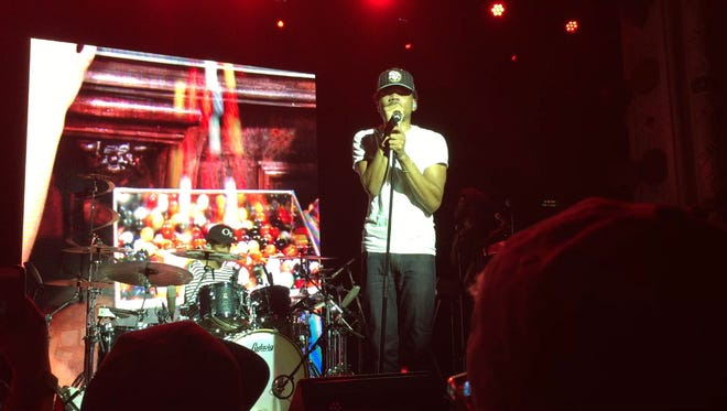 Chance the Rapper, seen here performing in Chicago, will be this year's Warchant performer.