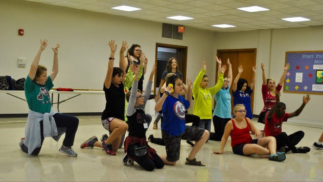 "Students rehearse for ""Seussical Jr., the Musical"" in Wausau in September 2016."