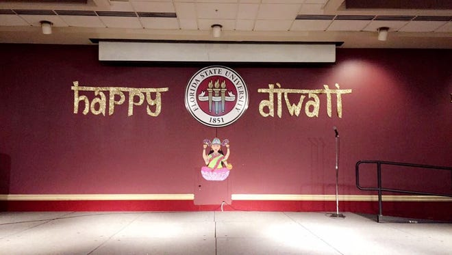The Indian Student Association celebrated Diwali in the Union Ballrooms last week.