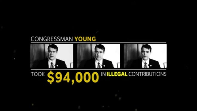Senate Majority PAC released an ad on Todd Young, GOP candidate for U.S. Senate.