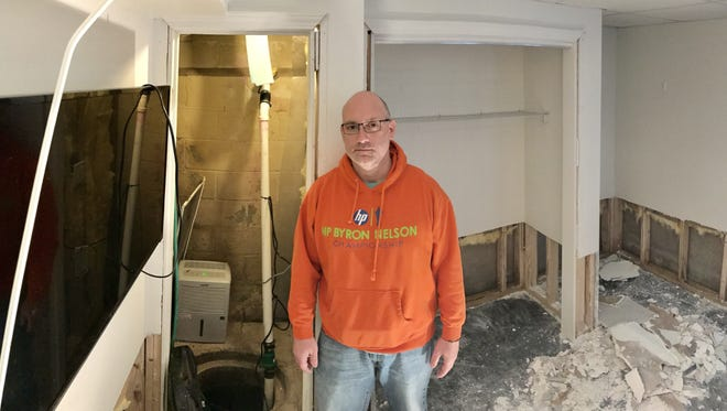 Joe Andolino and his Henrietta family were left unprepared when their basement was recently flooded with sewage.