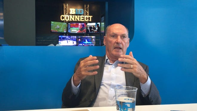 Big Ten commissioner Jim Delany said he thinks Detroit could potentially be a host for a conference men's basketball tournament.