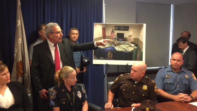 During a June 2017 news conference, authorities reported the arrest of a Bear couple for their part in a cocaine smuggling operating and for operating an underground marijuana growing bunker. On Tuesday, the couple faced a new indictment associated with their use of illegal drug money in the purchase of property in Delaware and Pennsylvania.