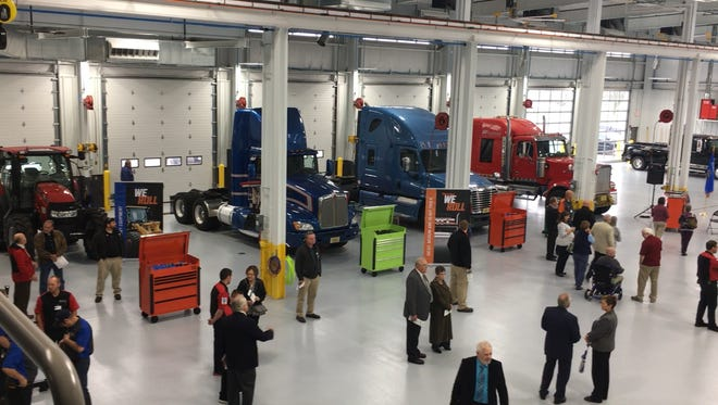 NWTC's new Transportation Center features more than 60,000-square-feet of workshops, classrooms, office and other space, enough for 220 students.