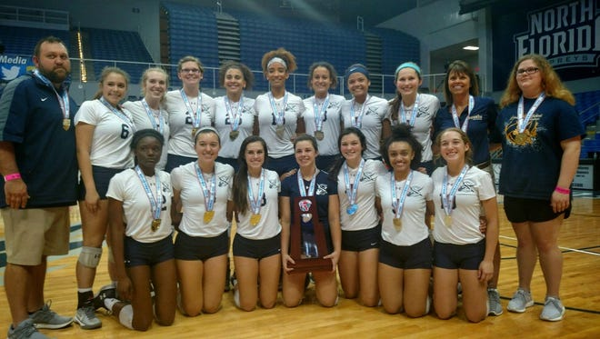 The Sneads volleyball team captured its fifth consecutive Class 1A state championship on Friday, beating Union County 3-0 at the University of North Florida in Jacksonville.