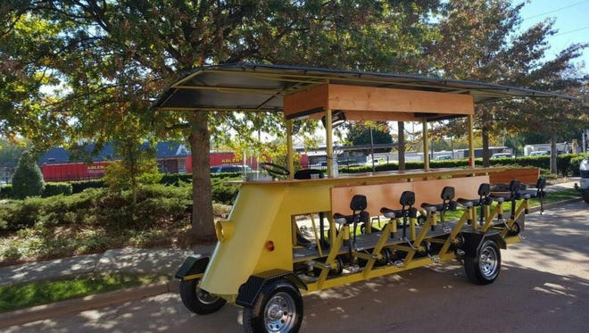 "The Wausau Spokeeasy will be the city's first ""pedal pub"" to hit the roads this spring."