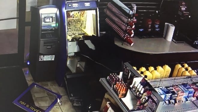 A convenience store closed for Operation Candy Crush was burglarized last week while police padlocks were on the door.