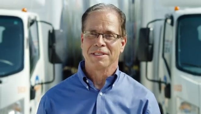 Screenshot of GOP Senate candidate Mike Braun's campaign ad.