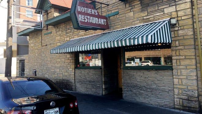Rotier's, in the Vanderbilt area, has been serving up cheeseburgers since 1945.