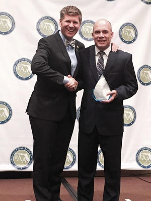 Matt Hurley, of Hurley Auctions in Greencastle, was named Champion Auctioneer at the Sunshine State Invitational Auctioneer Bid Calling Championship on May 9 in Tampa, Florida.