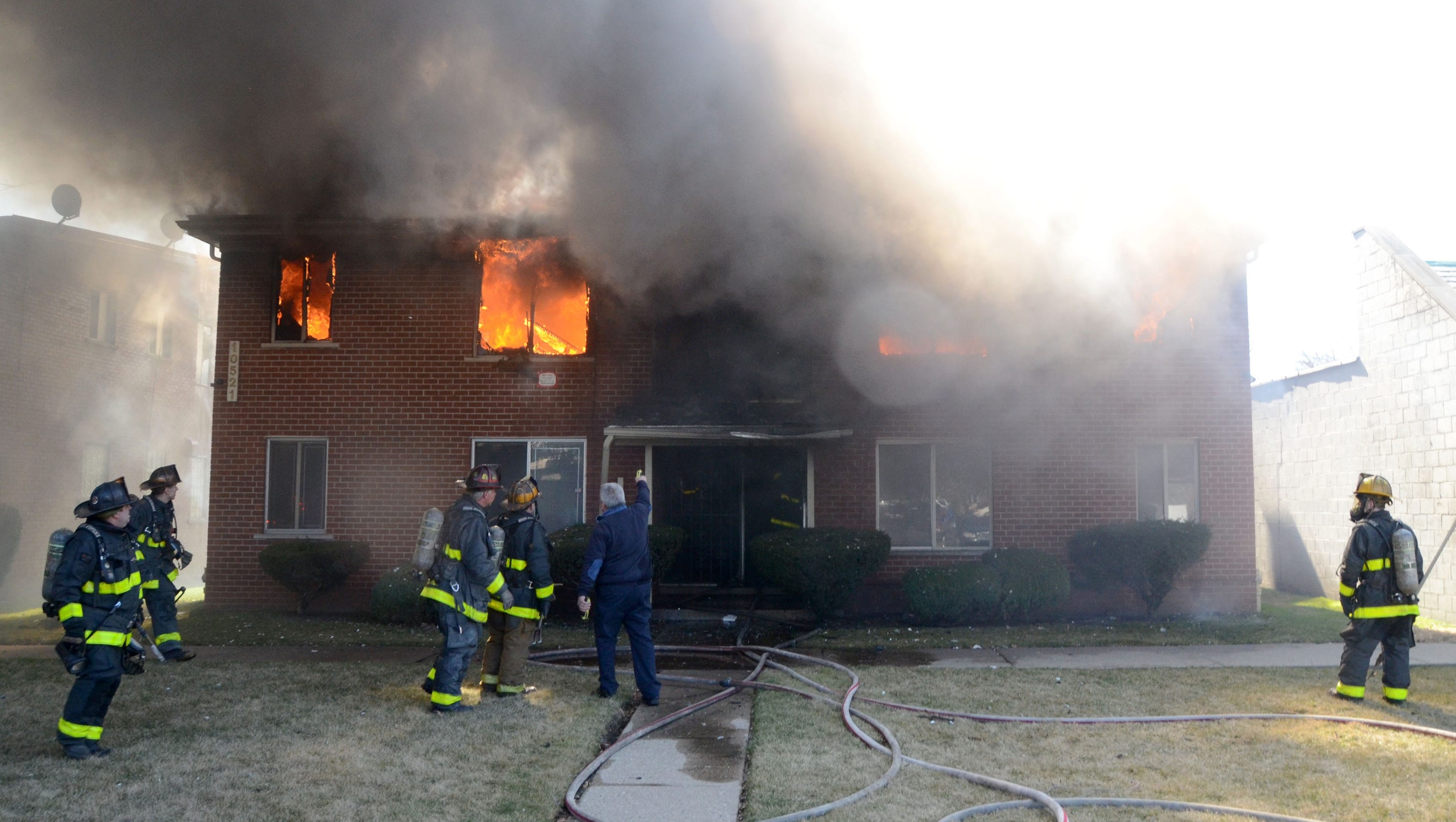 Wind Whipped Detroit Apartment Fire Claims 5th Victim