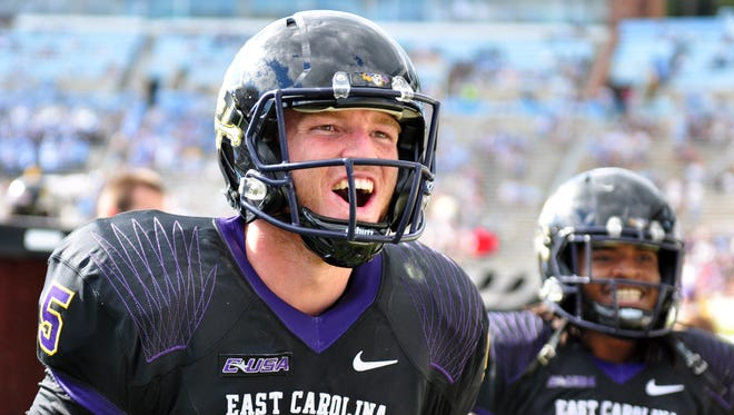 Shane Carden is new to the American Athletic Conference, but he might be the league's best quarterback.