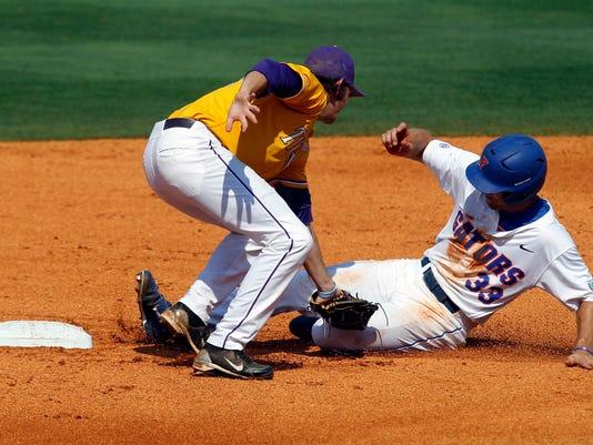 SEC LSU Florida Baseball H