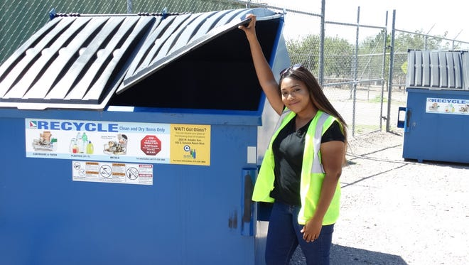 Tarkeysha Burton, of the South Central Solid Waste Authority, was named both the Recycling Facility Employee of the Year and the Solid Waste Employee of the Year (Non-Management).