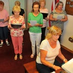 Judy Burke, choir director at Trinity Lutheran Church in Titusville, saw Jessica Saggio's 21 Day Gratitude Challenge story in the Florida Today and invited the church choir to participate in the three week challenge.