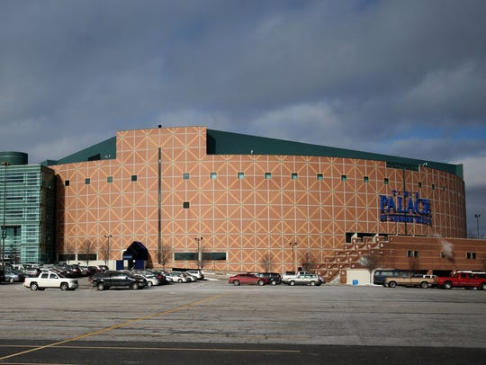 Exterior of the Palace of Auburn Hills in 2015.
