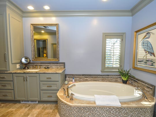 Another beautiful master bathroom suite.