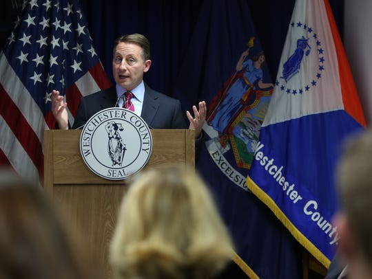 County Executive Robert P. Astorino announces that