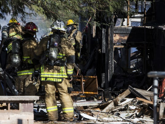 explosion at phoenix home