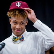 Did Romeo Langford just reveal what number he will wear for IU basketball?