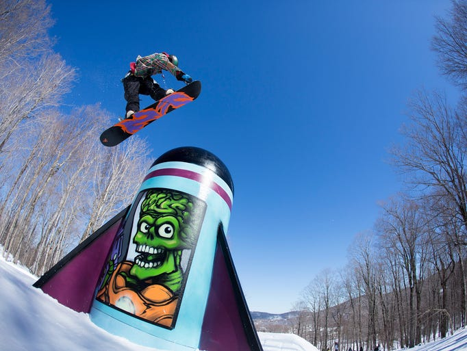 Rider Chandler Burgess at Neffland Killington.