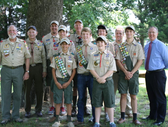Photo Gallery Eric Jeffords Eagle Scout Project
