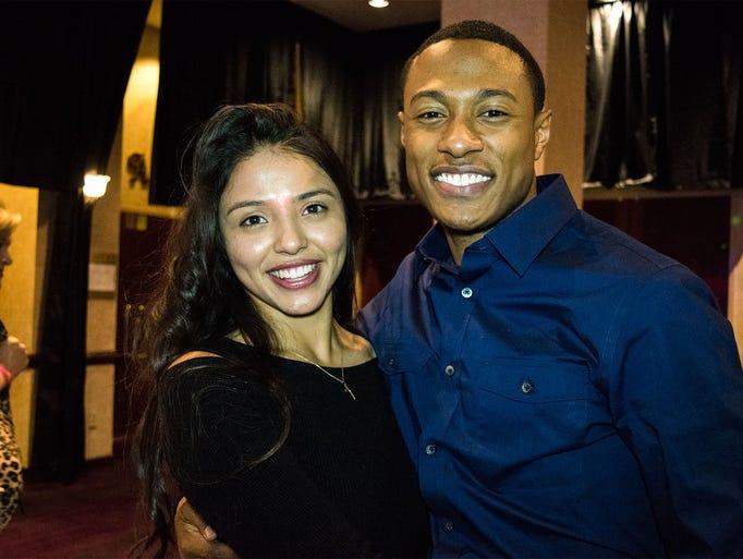 Devany Gutierrez and Sam Haye attend the 2017 Reno