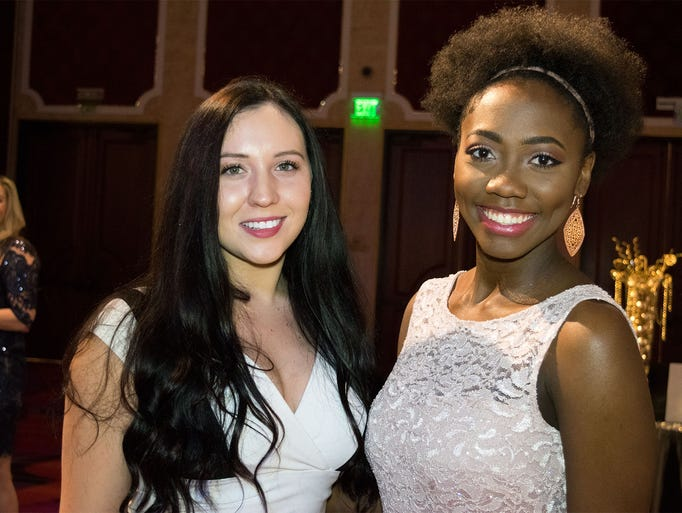 Maddie Dobbins and Sherra Williams attend the 8th Annual