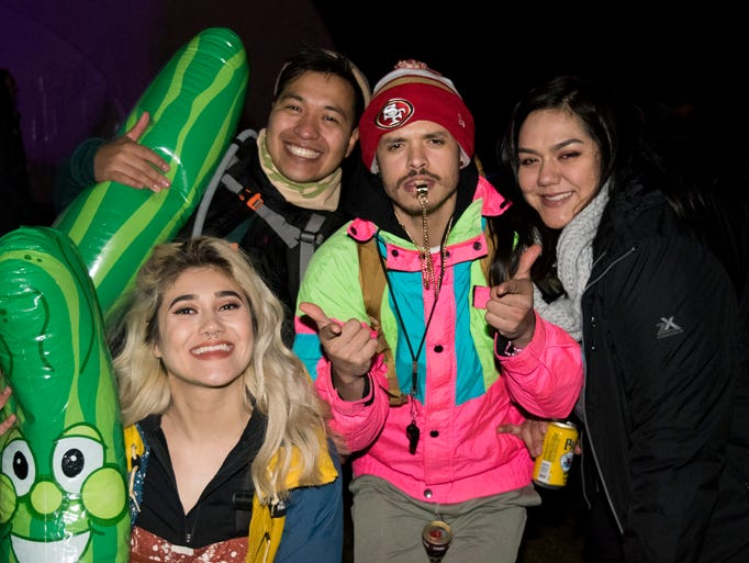 Scenes from the Snowglobe Music Festival in South Lake