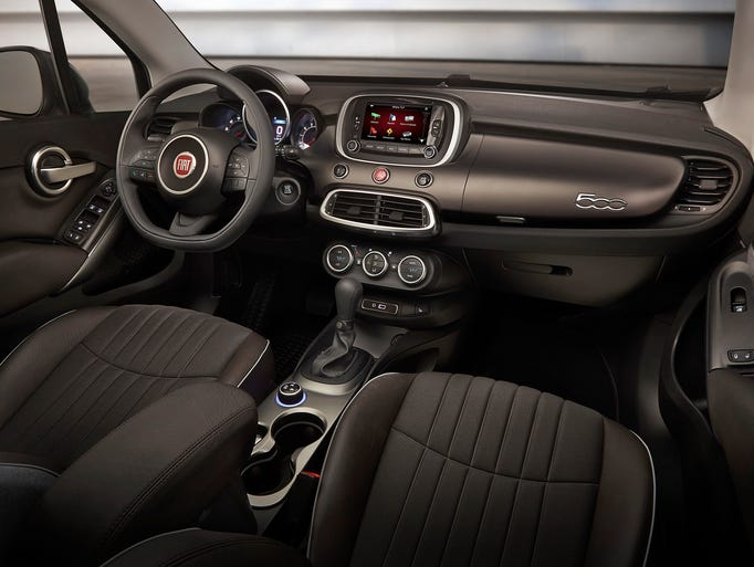 2016 fiat 500x an italian classic with an american attitude for 500x interior