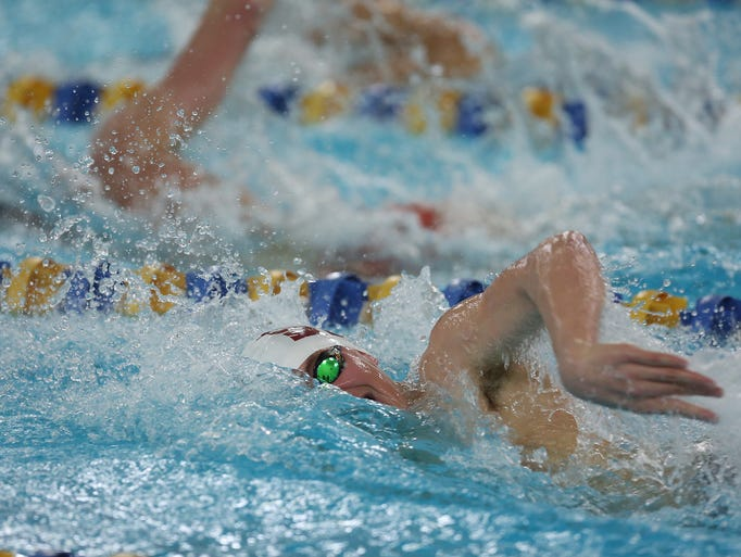 Swimming Horace Greeley Defeats Scarsdale 97 86