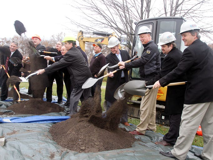 Annex of Marion Groundbreaking OSU