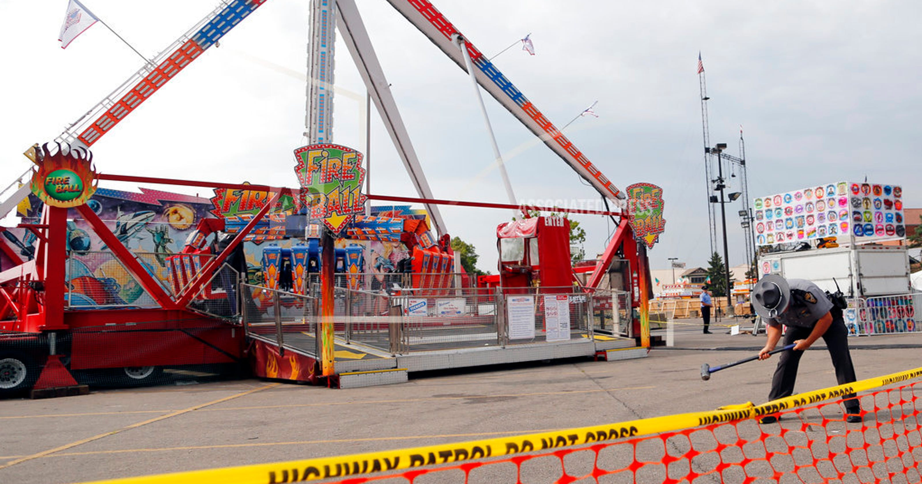 Inspectors won't pay for death on Ohio State Fair Fire Ball