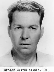 The bank robber was identified as George Martin Bradley
