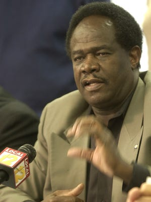 Ishton Morton is the current president of the Cincinnati chapter of the NAACP.