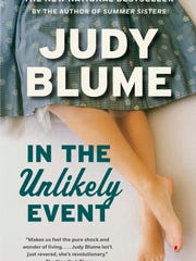 "Judy Blume says ""In The Unlikely Event"" is the last"