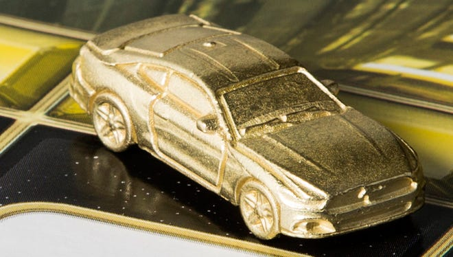 Ford Mustang selected as a piece for Monopoly Empire