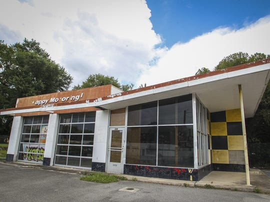 The former Happy Motoring gas station has been transformed