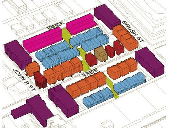 Construction of the new residences is scheduled to