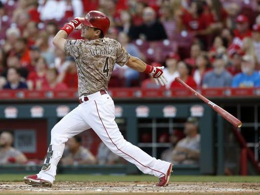 USP MLB: ST. LOUIS CARDINALS AT CINCINNATI REDS S BBN CIN STL USA OH
