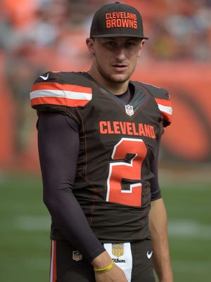 Johnny Manziel has started one game in 2015.