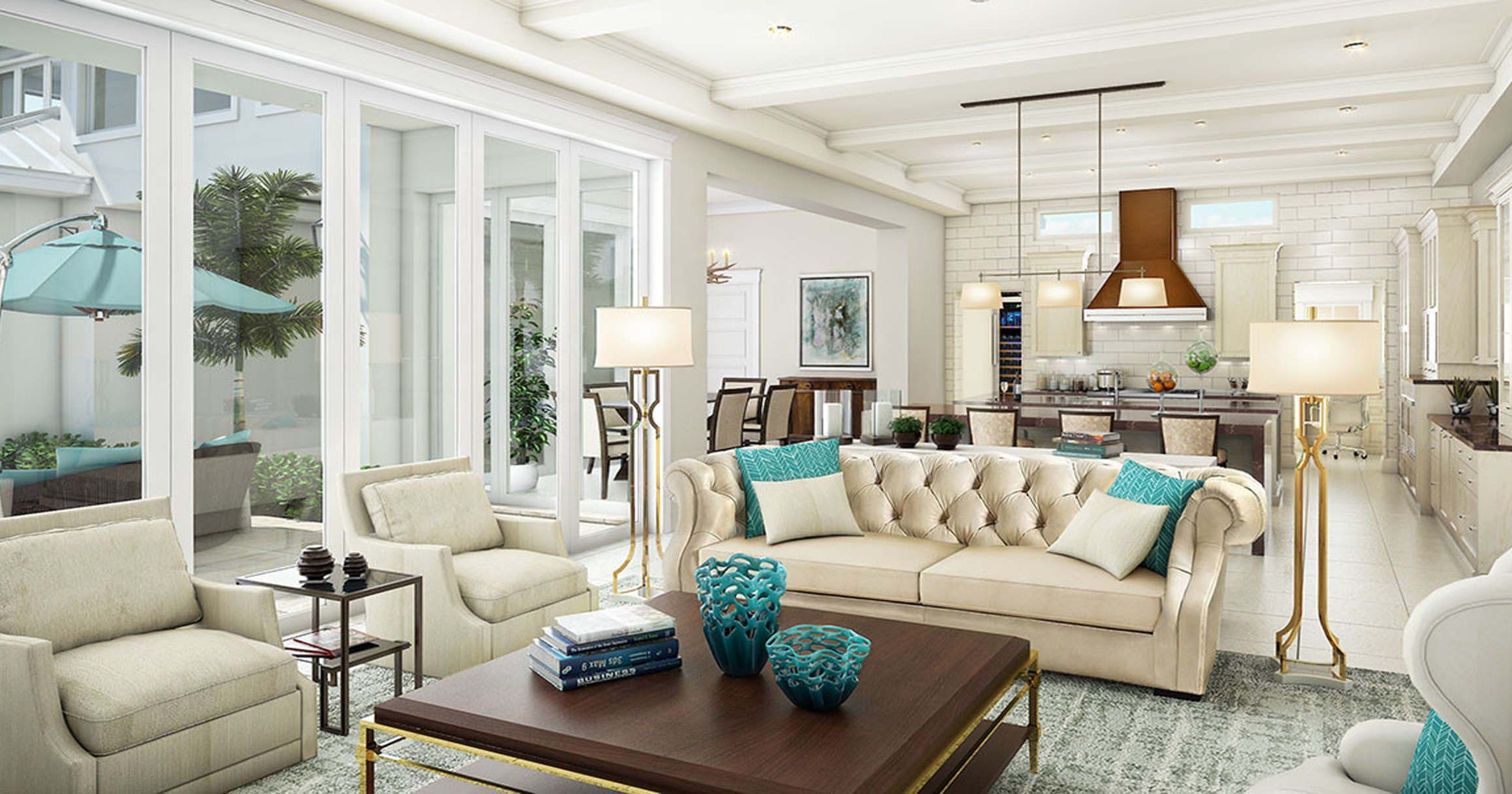 London Bay Homes selects Romanza Interior Design for Claremont model in Old Naples