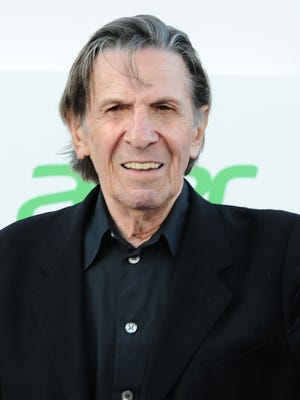 """Actor Leonard Nimoy attends the premiere of """"Star Trek Into Darkness"""" on May 14, 2013, in Hollywood."""