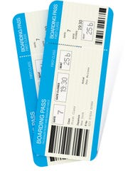 Airline tickets to Des Moines