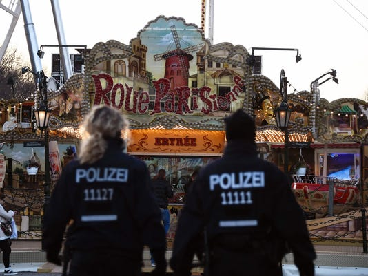 GERMANY-NEW YEAR-SECURITY