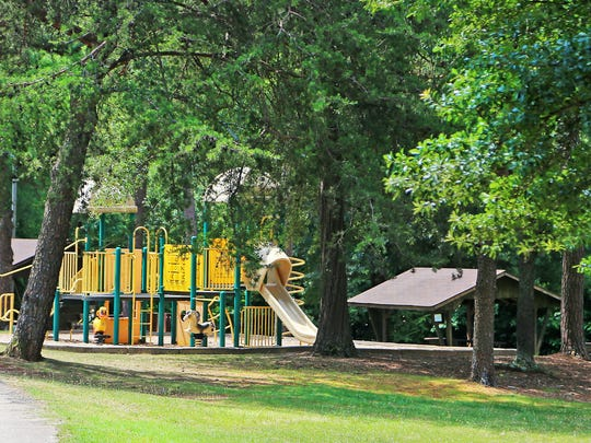 Gower Estates Park has a number of family-friendly features.